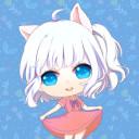 月白 猫美
