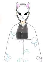 鬼滅の刃×オリキャラ物語 ( 狐のお面に隠された過去 )