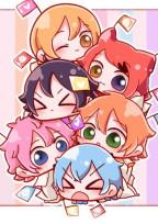 6人王子と1人の女の子