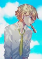 ツンデレな金髪少年