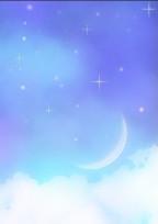 月が……。