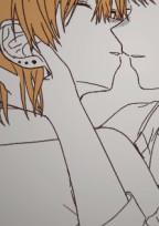 橙受け(^q^)