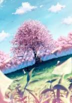 桜舞い散る春の恋