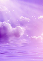 紫色の彼女