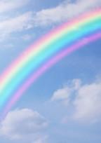消えない虹。