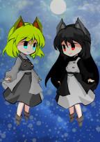黒猫と猫葉のラジオ局