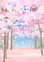 桜舞い散る夜に