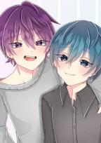 紫と青の恋の物語