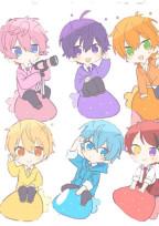 可愛い姫と5人の王子