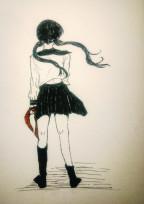 セイラー服少女
