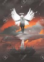私の悪魔と天使は怖い