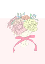 花束に紛れたスノードロップ