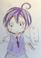 紫くんの体調不良