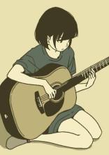 音楽を始めた。