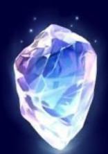 虹色にきらめく宝石