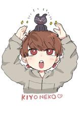 私の生意気黒猫🐱