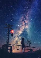 今日の夜空はいつもより__