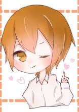 オレンジ色なあの子。