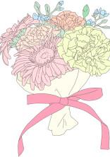 真夏に咲くサクラの花束を君に