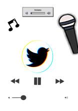 有名歌い手の青い鳥🐦