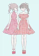 双子×双子