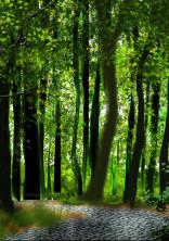 森の中の悪魔に注意