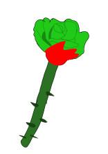 薔薇の子は少し変わったスプラの世界へ!