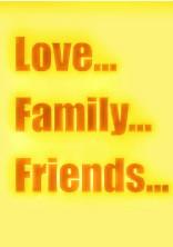 愛と、家族と、友情と。