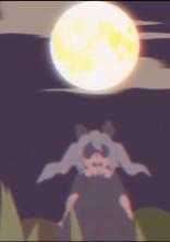 月を見ていた俺の元に兎が落ちてきました