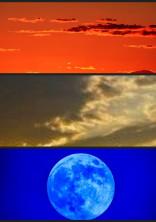 暁と黄昏と月の話