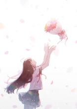 4月の【桜】が、舞い落ちる