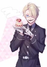 ウチの統領は甘い物がお好き。