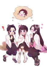 胡蝶三姉妹の日常