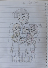 私の可愛い6人の子ども達