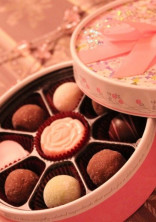 ほろ苦い恋のチョコレート
