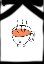 お茶とイラスト