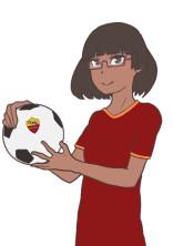 ローマ女子が超次元のサッカーで活躍中