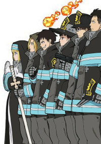 炎炎ノ消防隊 アドラバーストを持つもの