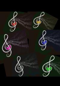 6つの音と1つの音