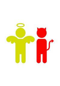 悪魔と天使のギリ兄弟