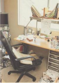 作者の部屋ぁ