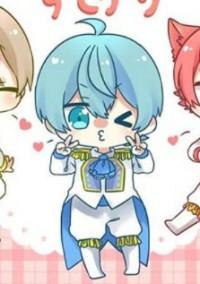 青色の天使がかわいいんです
