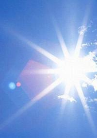 …一陣の光…