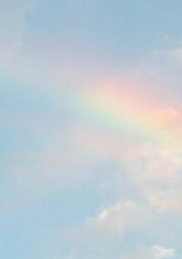 虹 色 侍 と 屋 根 の 下 .