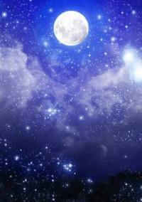 今日も月がきれい