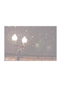 雪に願いを
