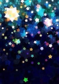 星が綺麗な雨の夜に