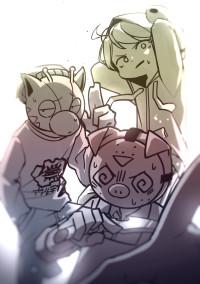 plotアニメのイラスト!!