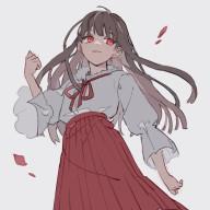 嘘の仮面 @Flower crown