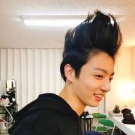 チョングゥの髪の毛